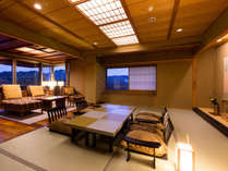 天祥の館「然 Zen」ロイヤルスイート(和室+リビングルーム)