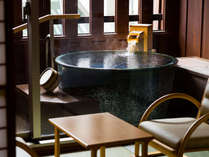 白雲本館温泉露天風呂付客室(客室露天風呂)(洗い場なし)、バス・トイレ付
