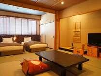 ■白雲南館ベッド付客室(和室8畳)、バス・トイレ付