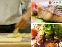 【となみ野でつくるイタリア料理】前菜&パスタ&富山湾で水揚げされた魚または地豚なんとポークがメイン