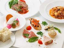 【カジュアル イタリア料理】生パスタ+肉or魚の選べるメインが人気のコース