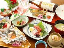 【和食コース】鮎や季節の素材を活かした人気の和食
