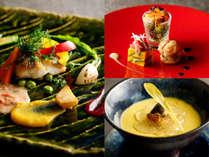 【盛夏◇カジュアルに旬を楽しむフレンチ】富山湾天然夏まぐろ&選べるメイン料理など4品+創作スイーツ