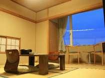 静かに過ごせる落ち着いた雰囲気の和室