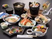 ★【潮膳】三河湾で獲れた新鮮な海の幸を使った定番の料理です