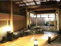 高野槙露天風呂(女性)メタケイ酸たっぷりの美肌の湯をお楽しみください