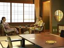 和室で癒しの時間