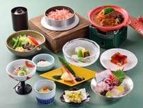 【夏の味覚】和風ビーフシチューと桜海老の釜飯◆羅漢果寄せ(お食事処)