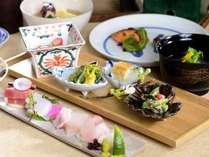 定番♪月替わり会席/新月コース★★お料理の一例。(2019.04~)