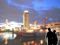神戸の街並みを一緒に歩いて、二人の距離もぐっと近づくかも・・・