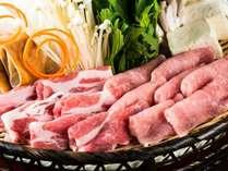 ■本館■【春の美食フェア】~最上の春を味わう~「米の娘ぶた&山形牛のしゃぶしゃぶ」+海鮮陶板焼+山菜