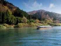 最上川芭蕉ライン舟下り/数々の絶景ポイントを巡る約1時間の船旅