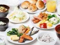 【朝食】大好評の朝食和洋食バイキングが、装いも新たに更にグレードアップ!!