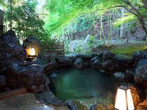 ■貸切露天風呂-楓庵-■まるで森に囲まて、京の町からたった30分で湯の贅を