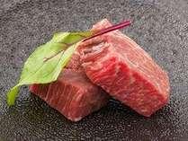 美味しいものを少しずつ。肉は上質な但馬牛を使用
