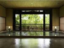 大浴場◆流風 深緑香る半露天スタイル