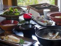 地元の素材を丁寧に調理した、体に優しい朝食をご用意いたします