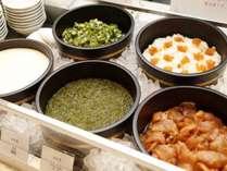 ◆朝食:名物!ぶっかけ丼 港町八戸ならでは♪