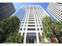 【外観】品川シーサイドイーストタワー16階~22階がホテル棟