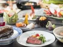 【御夕食グレードアップ】1泊2食付 贅づくしの北海道食材「祝津会席」プラン