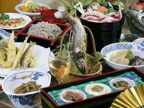 *春夏秋冬、旬に合わせた秩父の郷土料理をたっぷりと!創業140年の伝統の味でおもてなし致します。