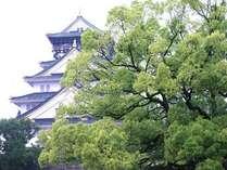 春の大阪城(イメージ)