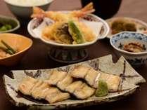 【夕食時にワンドリンクプレゼント】<愛知県産うなぎ&天ぷら>スタミナたっぷりの夕食&朝食付プラン