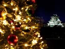 大阪城(クリスマス)イメージ