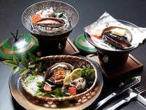 ♪ゴージャスに♪漁師の我流~ 《 伊勢海老 》 & 《 アワ ビ 》 &海鮮料理 (1泊2食付)