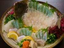 【ヒラメの姿造り】新鮮な大分県産のひらめを豪華姿造りで召し上がれます