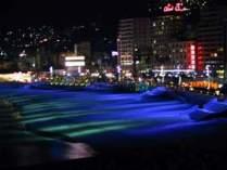 【周辺観光地】毎晩開催のサンビーチライトアップ
