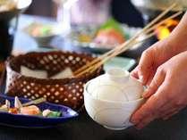 ■のんびり楽しいお食事のひと時を