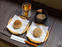 【朝食プラン】オーナーのこだわりが詰まった 絶品の焼きおにぎり・かちゅーゆー(お味噌汁)をご提供!