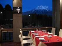 富士山が見えるレストラン