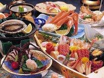 【海鮮問屋直営】ならではの新鮮な南房総海鮮料理の一例。