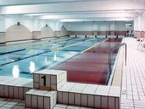 年中泳げるスイミングプール25メートル5コース