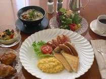 【オーシャンテラス】朝食ブッフェイメージ
