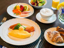 【クラブフロア専用ラウンジ】朝食イメージ