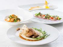 【ディナー】イタリア料理「ラ ヴェラ」季節のコース 一例