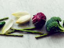 地元産の新鮮な食材など安心安全で美味しい食材にこだわっています
