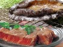 【能登を食す!SP】 夕食チョイスプラン!『アワビか?肉か?』 もちろん、日本海の旬魚の舟盛りも!
