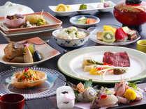 【基本料理】旬コース 地物食材にこだわったお料理