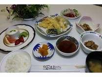 得×2プラン♪ご夕食(天ぷら)です。