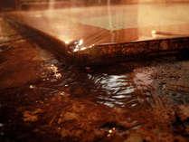 源泉かけ流し当宿一番のこだわり『湯の鮮度』