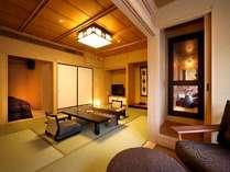 ◆八番館眺望風呂付和洋室