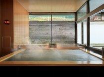 ◆秀峰館大浴場(半露天ジェットバス)