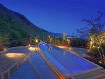 空中庭園露天風呂