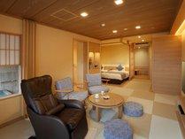 ◆御影石風呂付きスーペリア和洋室