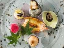◆見た目も楽しめる季節の酒肴いろいろ・・・
