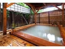 ※源泉100%かけ流し大浴場(露天風呂)